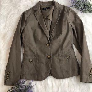 Talbots petites NWOT blazer/utility jacket